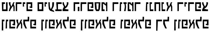 X_Boker Hebrew Font