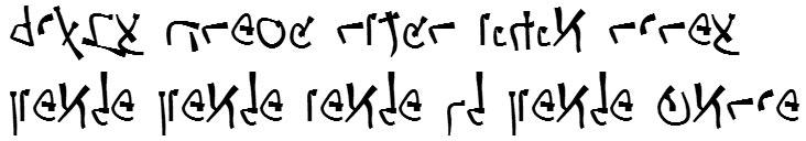 X_Busta Hebrew Font