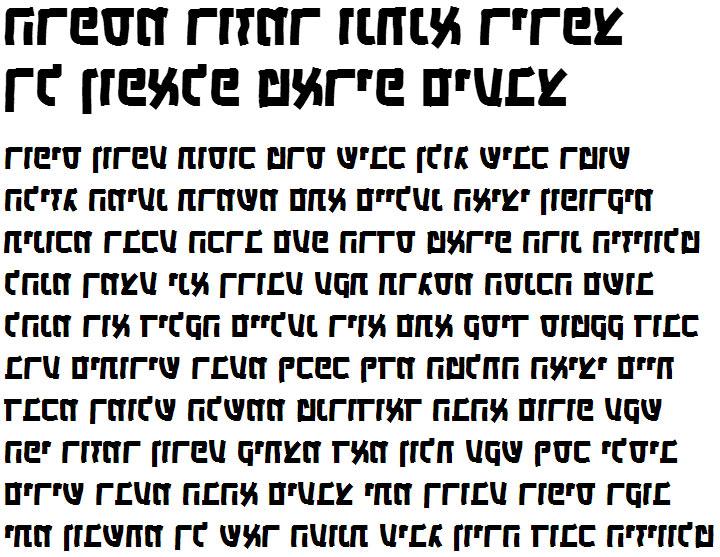 X_Camping Bold Hebrew Font