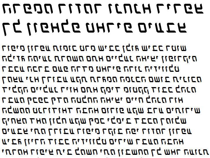 X_Dlilah Italic Hebrew Font
