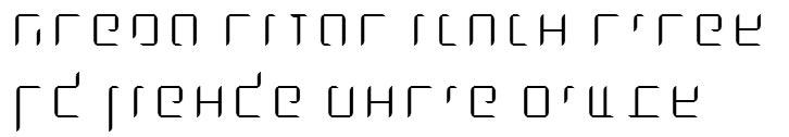 X_Dlilah Thin Hebrew Font