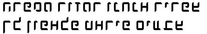 X_Dlilah Hebrew Font