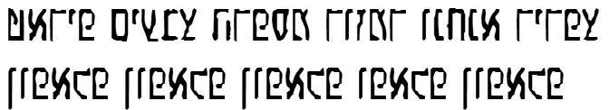 X_Eldad Hebrew Font