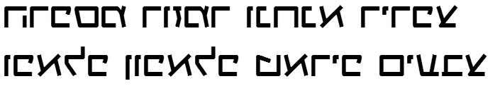 X_Gagua Hebrew Font