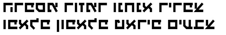 X_Haim Reloaded Hebrew Font