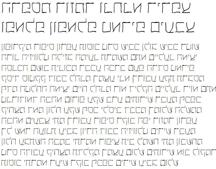 X_Helem Hebrew Font