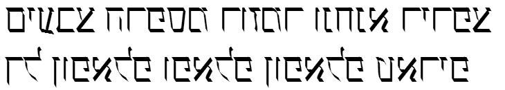 X_Ilanit Hebrew Font