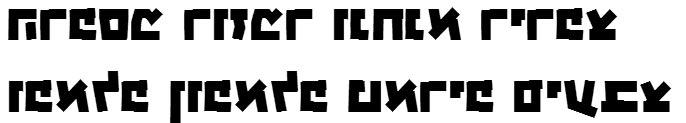 X_Kammer Bold Hebrew Font
