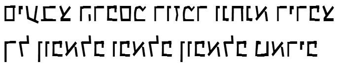 X_Kammer Hebrew Font