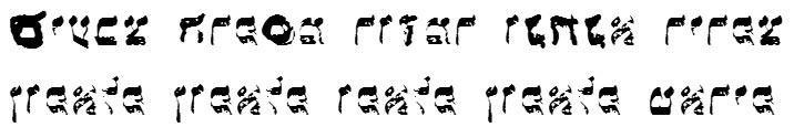 X_Lakahat Bold Hebrew Font