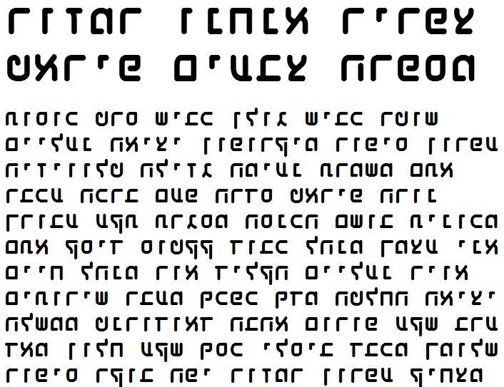 X_Shaliah Sans Black Hebrew Font