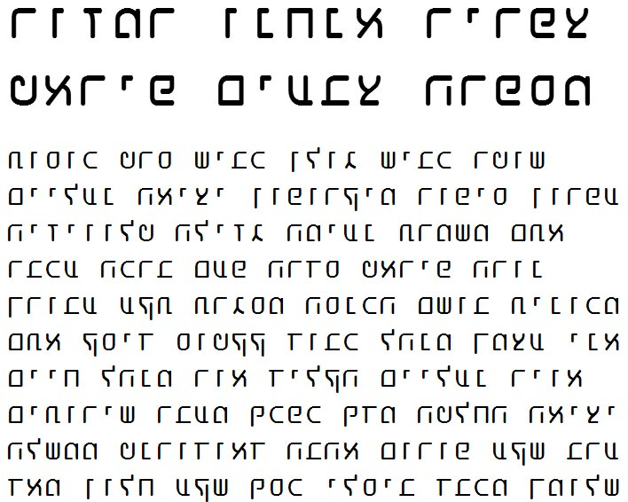 X_Shaliah Sans Bold Hebrew Font
