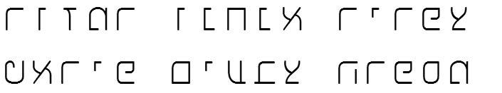 X_Shaliah Sans Hebrew Font