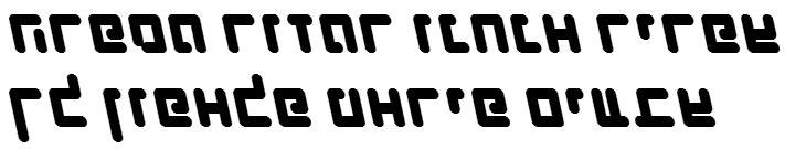 X_Shimshon Agol Bold Italic Hebrew Font