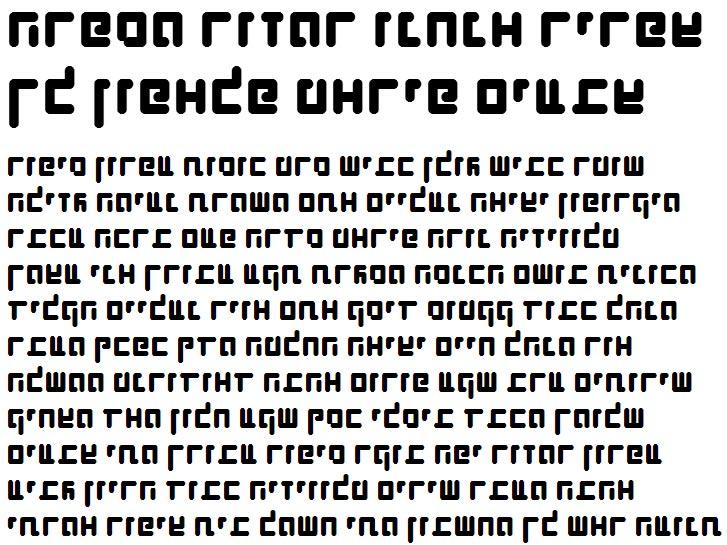 X_Shimshon Agol Bold Hebrew Font