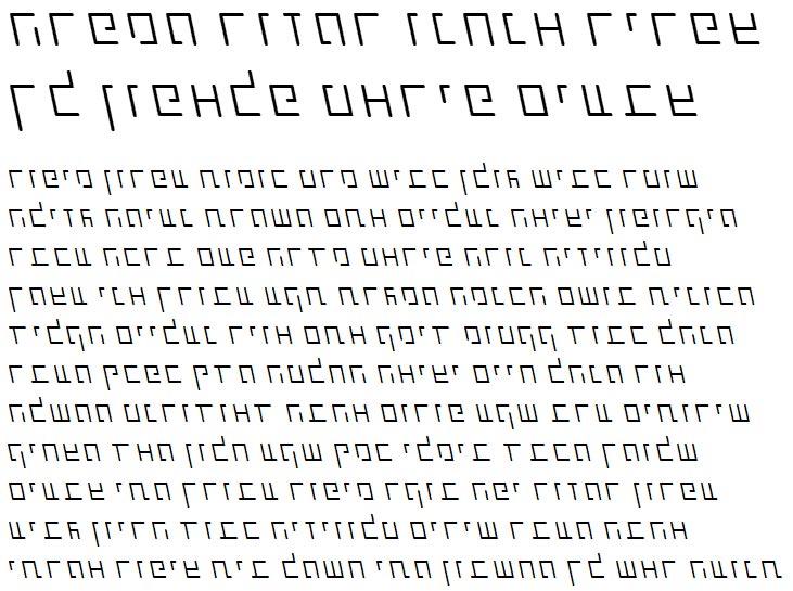 X_Shimshon Agol Thin Italic Hebrew Font