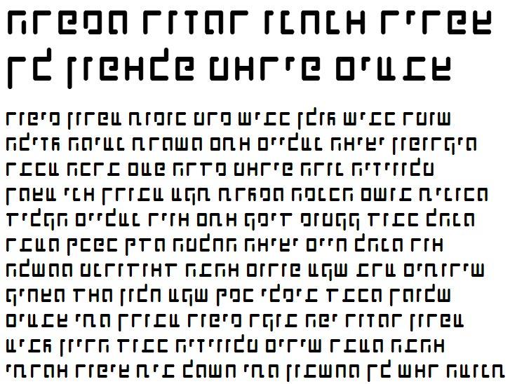 X_Shimshon Agol Hebrew Font