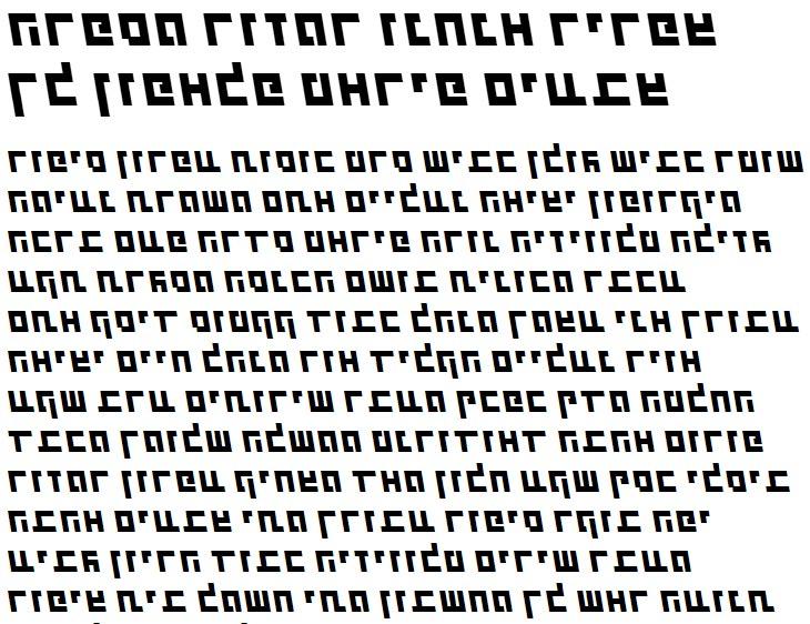 X_Shimshon Bold Italic Hebrew Font