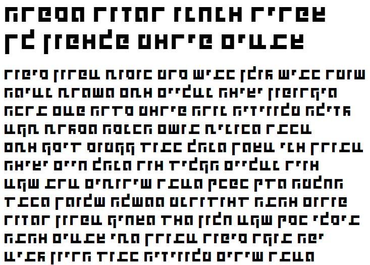 X_Shimshon Bold Hebrew Font