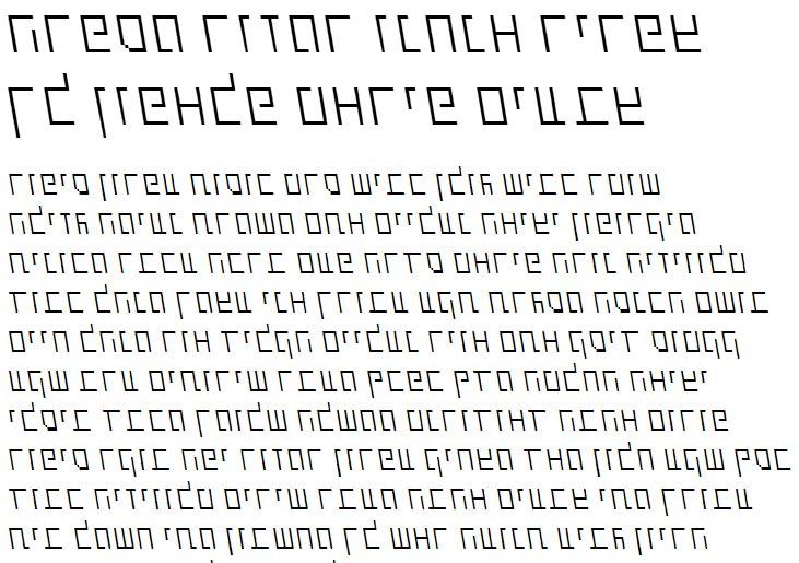 X_Shimshon Thin Italic Hebrew Font