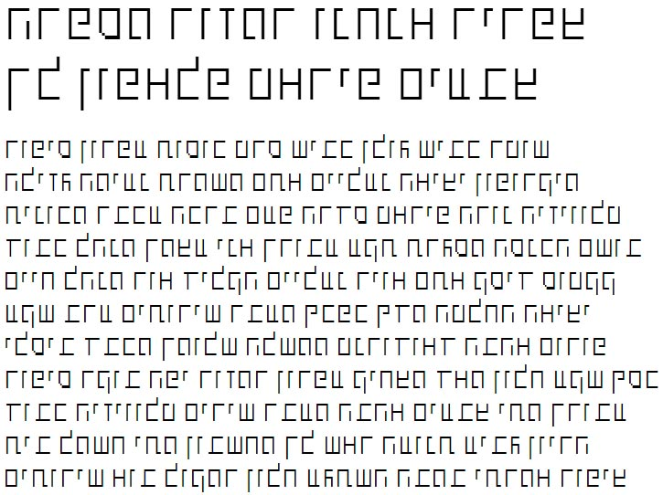 X_Shimshon Thin Hebrew Font