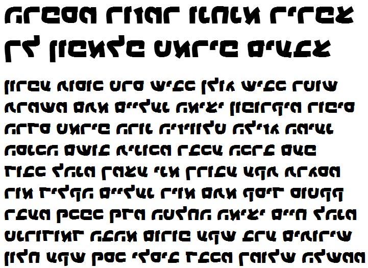 X_Sinaa Black Hebrew Font