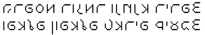 X_Stanger Cursive Hebrew Font
