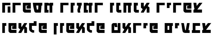 X_Touring Bold Hebrew Font