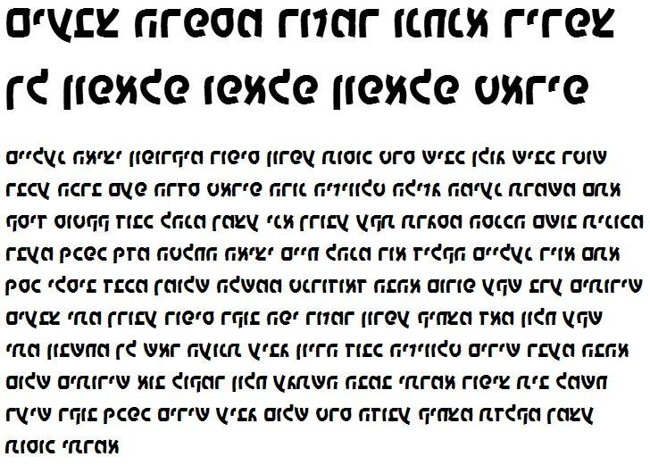X_Yoav Bold Hebrew Font