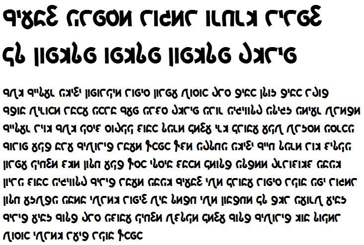 X_Yoav Cursive Bold Hebrew Font