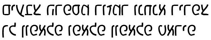X_Yoav Hebrew Font