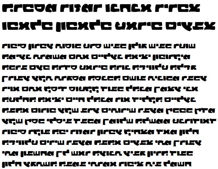 X_Zaam Black Hebrew Font
